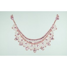 Collar Sequined Pink