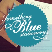 Something Blue Stationery