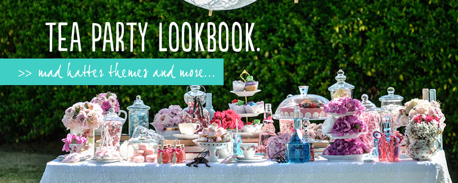 tea party lookbook