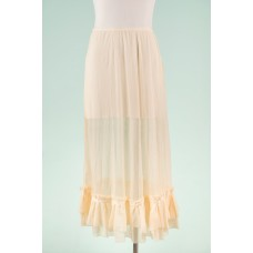 Petticoat cream tulle frill