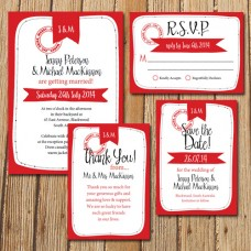 Backyard Bride | Invitation Set