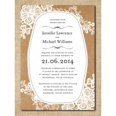Paper & Lace | Invitation
